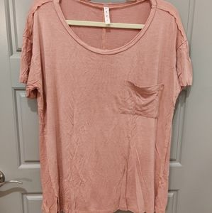 MTS Faded and Distressed Vintage Wash Tee